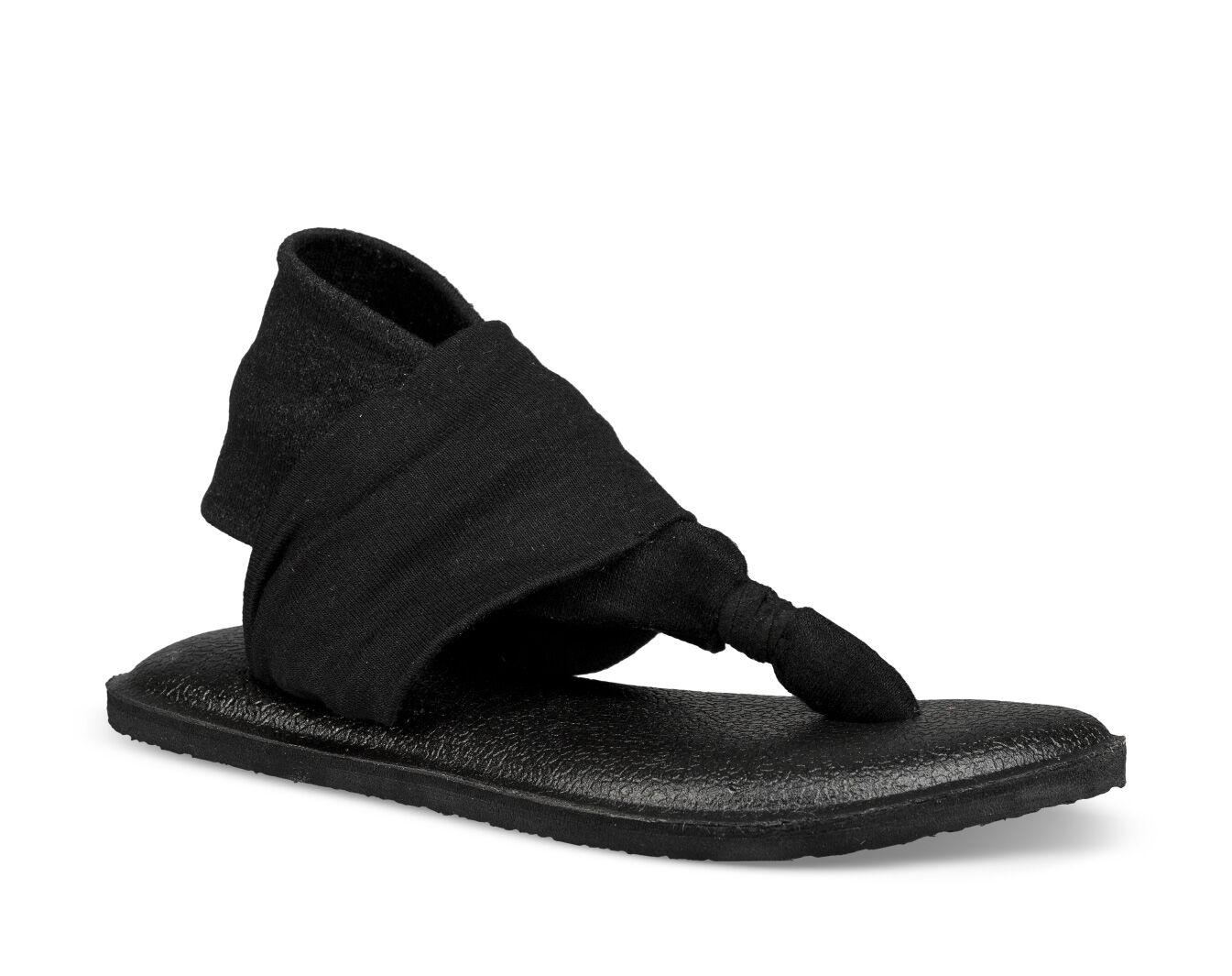 Sanuk Girl/'s Yoga Sling Burst Sandals Color Orange 1011416K or 1011417Y
