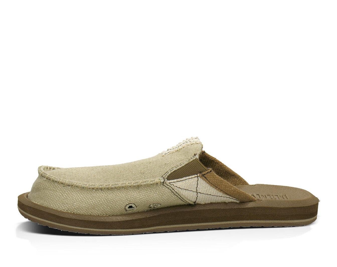 US, M Sanuk Mens You Got My Back II Sandals Tan 13 D