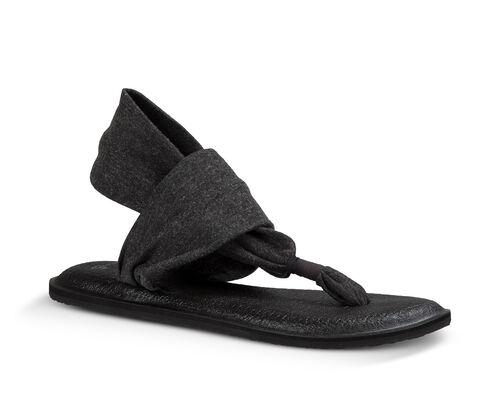wrap sandals shoes poshmark sling listing m black mat yoga sanuk