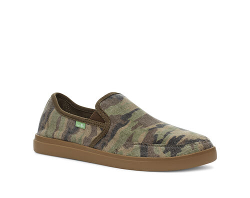 Vagabond Slip-On Sneaker Camo Alternative View