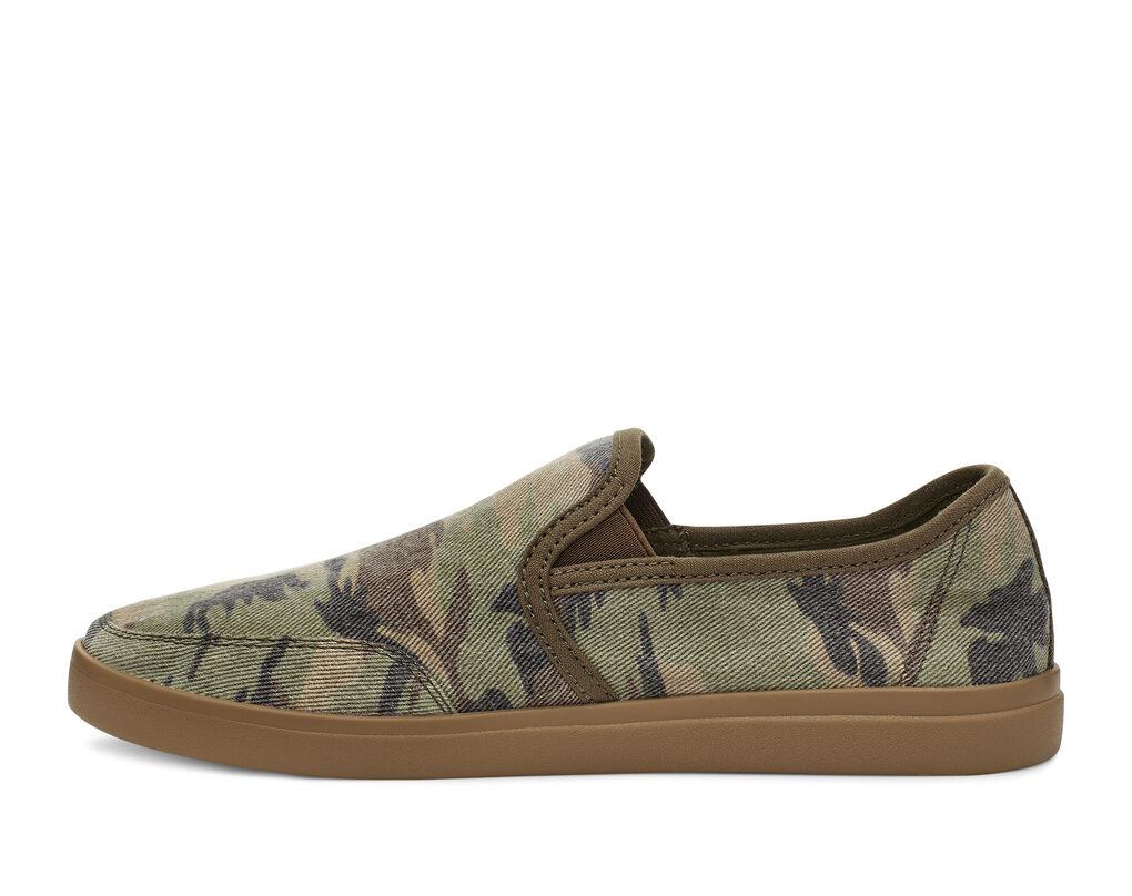 Vagabond Slip-On Sneaker Camo