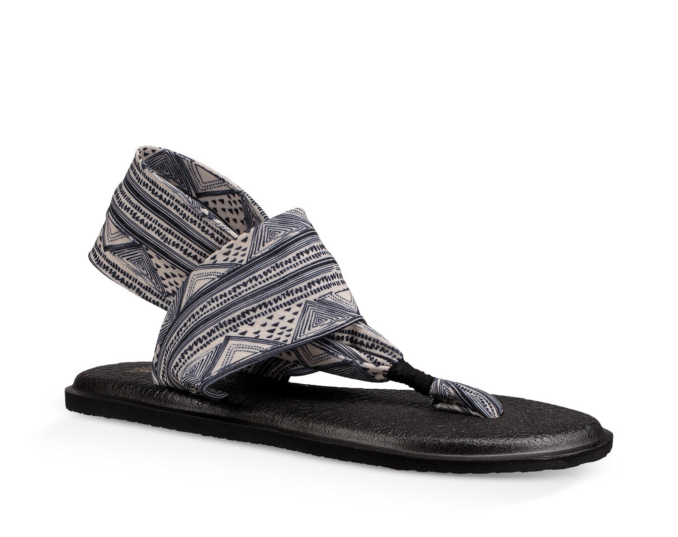 Yoga Sling 2 Prints Stretch Knit Sandals SaeZpm