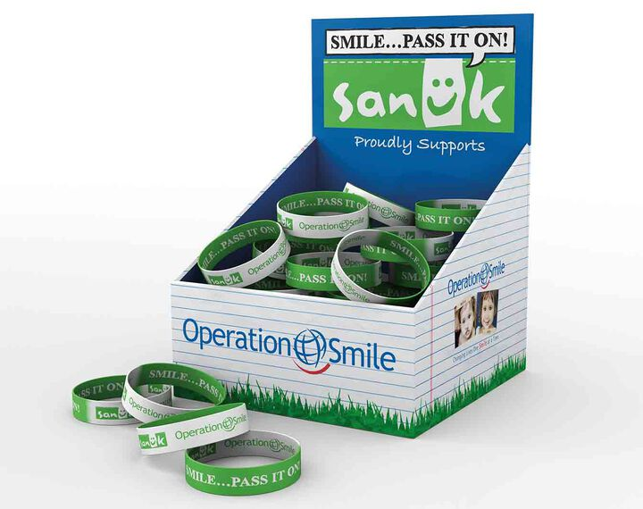 Smile... Pass it on! Bracelet. 100% of the Proceeds Benefit Operation Smile