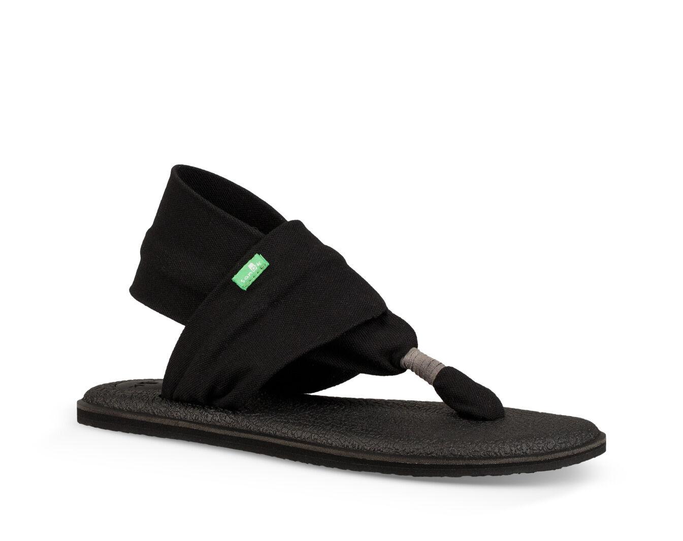 Sanuk Yoga Sling Ladies Grey Sandals juuvCr