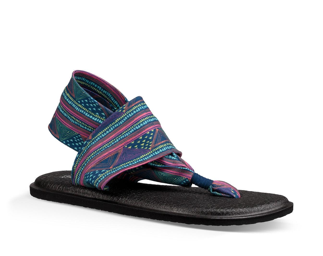 Yoga Sling It On Prints Sandal - Mujer Dusty Purple / Multi 7 mYW6B