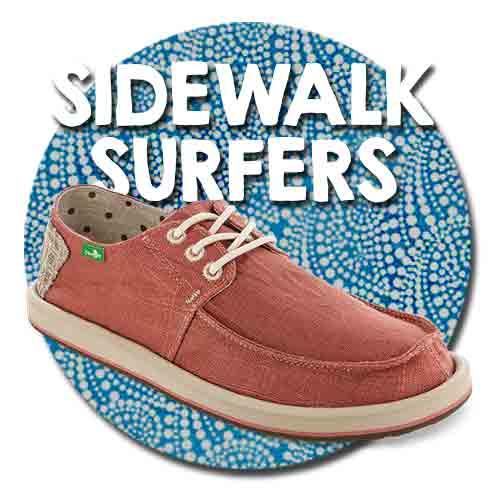 Shop Sanuk Men's Sidewalk Surfers