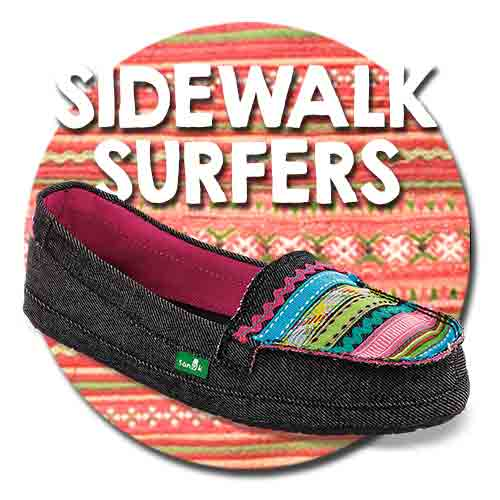 Shop Sanuk Women's Sidewalk Surfers