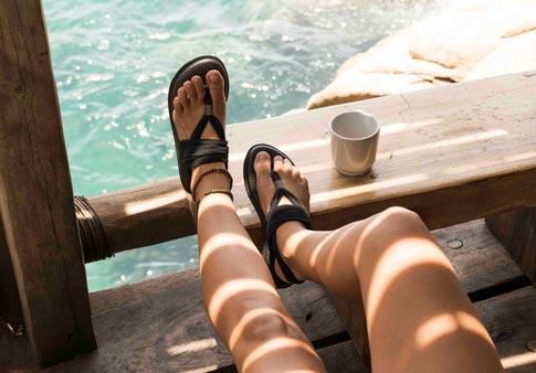 White 6 Sanuk SWS10001 Women/'s Yoga Sling 2 Sandal
