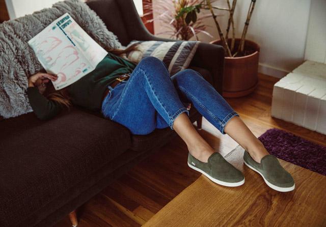 Shoes Sanuk Womens Pair O Dice Flat