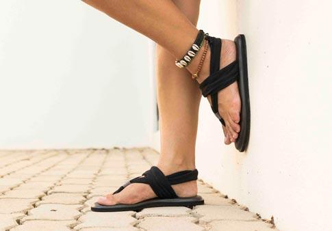 Sanuk Yoga Sling 2 Prints Black Natura Women/'s Knit Sandal SWS10535