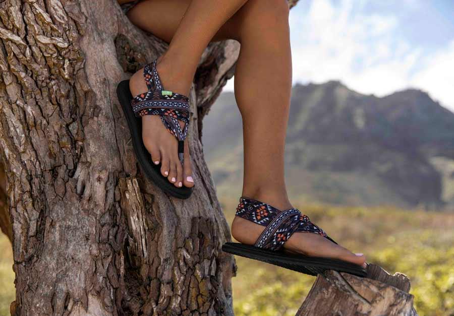 Women's Yoga Sling 2 Prints Sandals