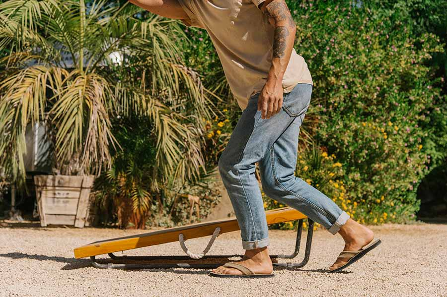 Men's Fraid Not Flip Flops | Sanuk