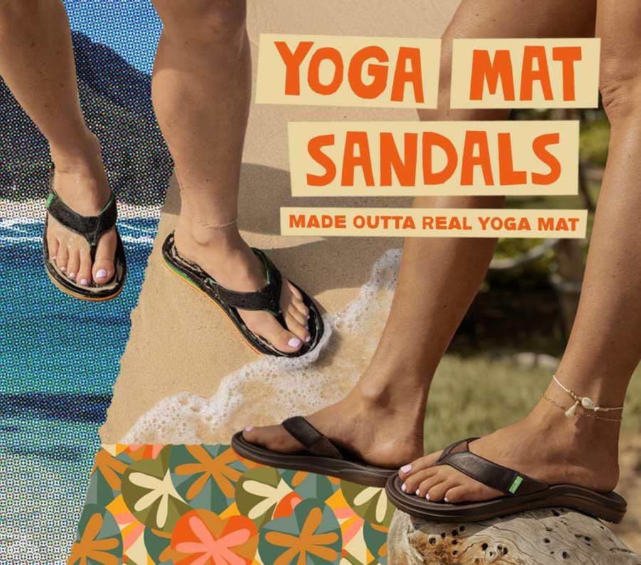 816b47ed0 Yoga Mat Flip Flops & Sandals | Sanuk® Official