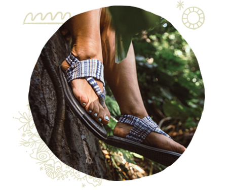 Women wearing Sanuk Sandals
