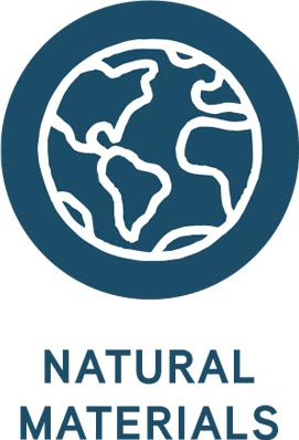 Natural materials icon.