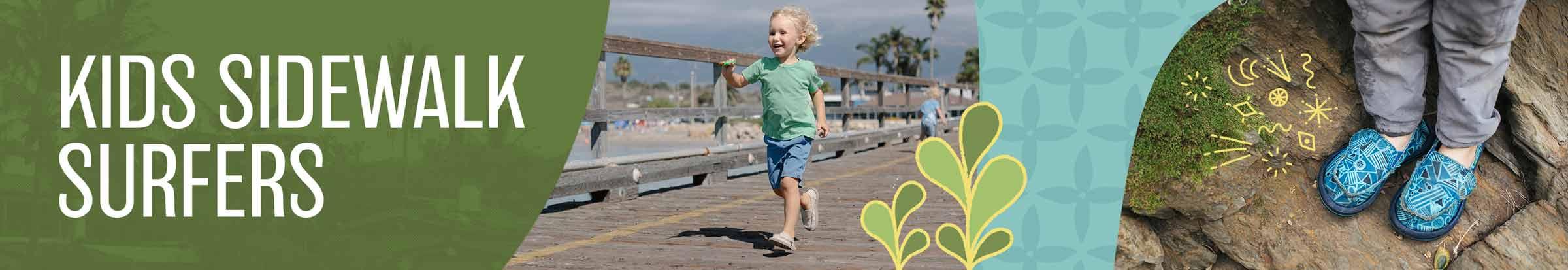 Kids Sidewalk Surfers