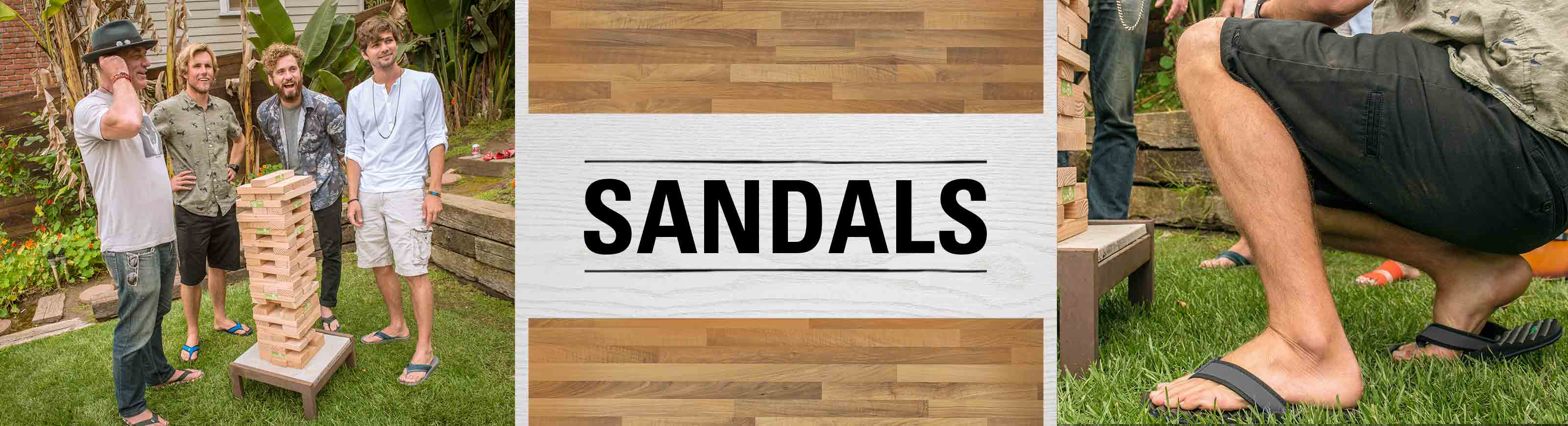 mens sandals category banner