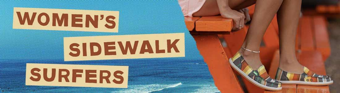 Sanuk Women's Sidewalk Surfers.
