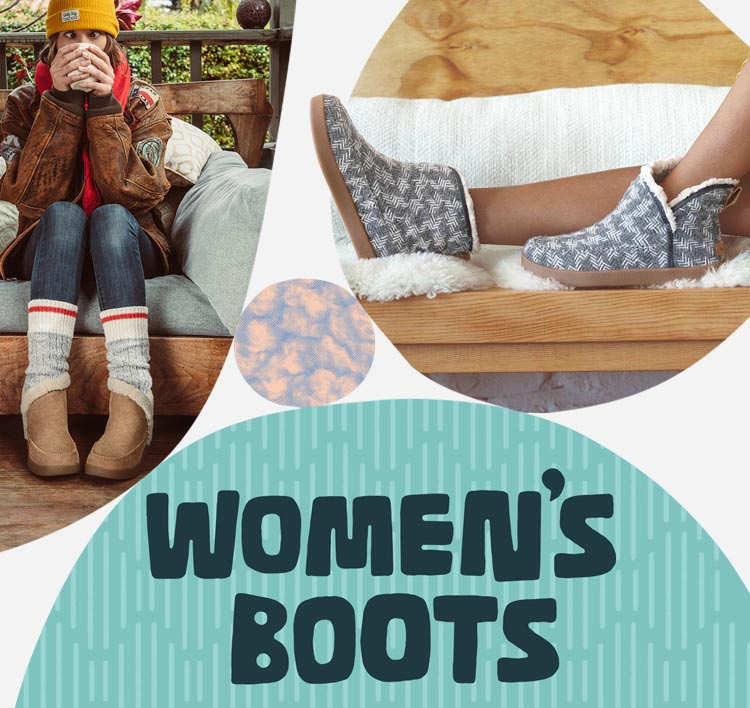 A collage of feet wearing womens boots