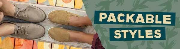 Sanuk Packable Shoes.