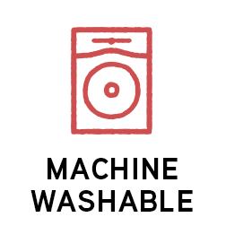 Machine washable icon.