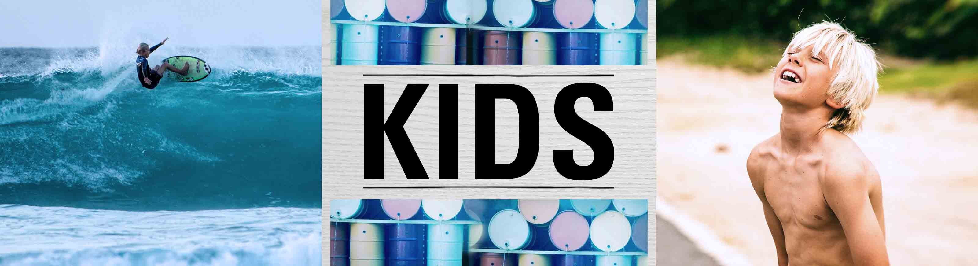 kids category banner