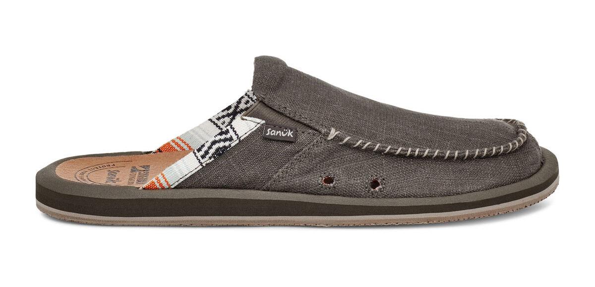 Sanuk We Got Your Back Surfrider sandals.