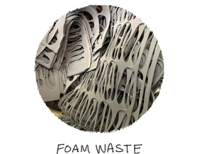 An Image of foam waste