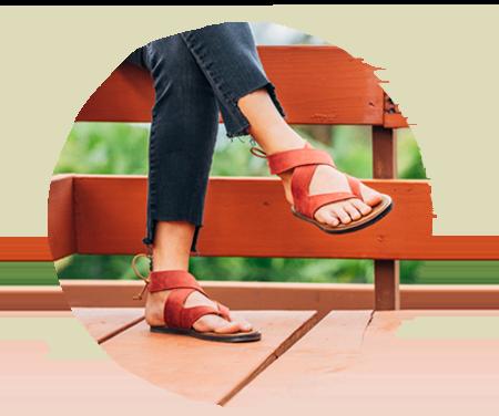 Women wearing Sanuk Premium Sandals