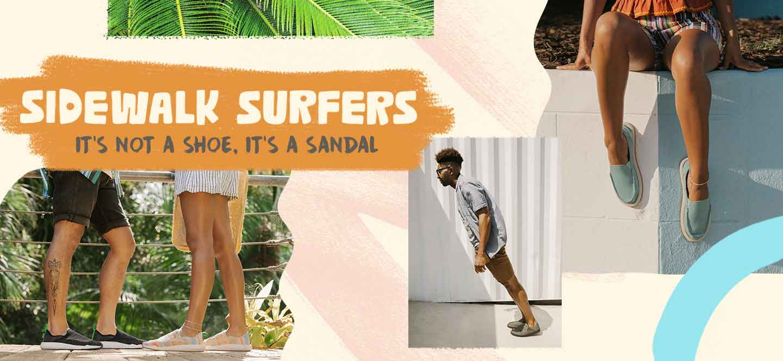Sidewalk surfers - It's not a shoes, it's a sandal