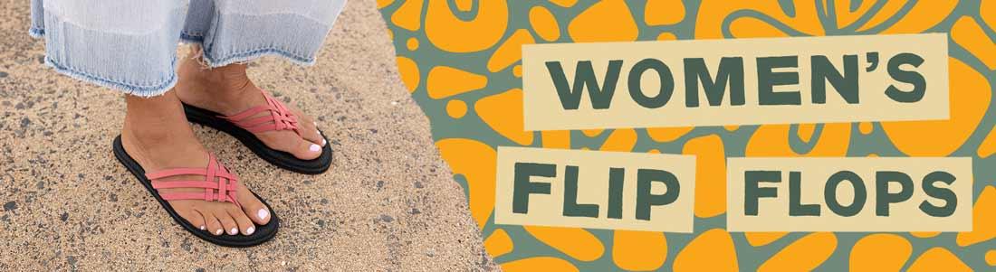 Sanuk Women's Flip Flops.