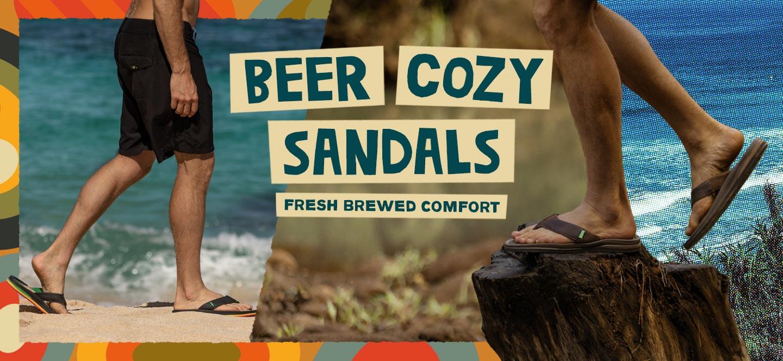 Beer Cozy Flip Flops Amp Sandals Sanuk 174 Official