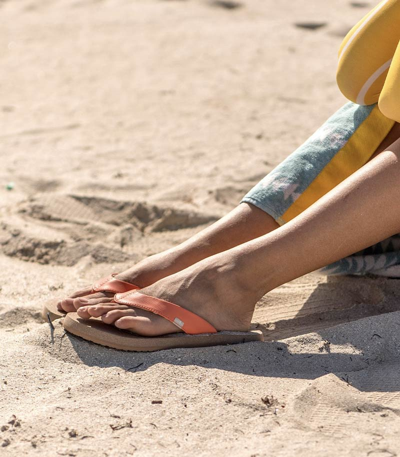 Comfy Flip Flops for Women   Sanuk