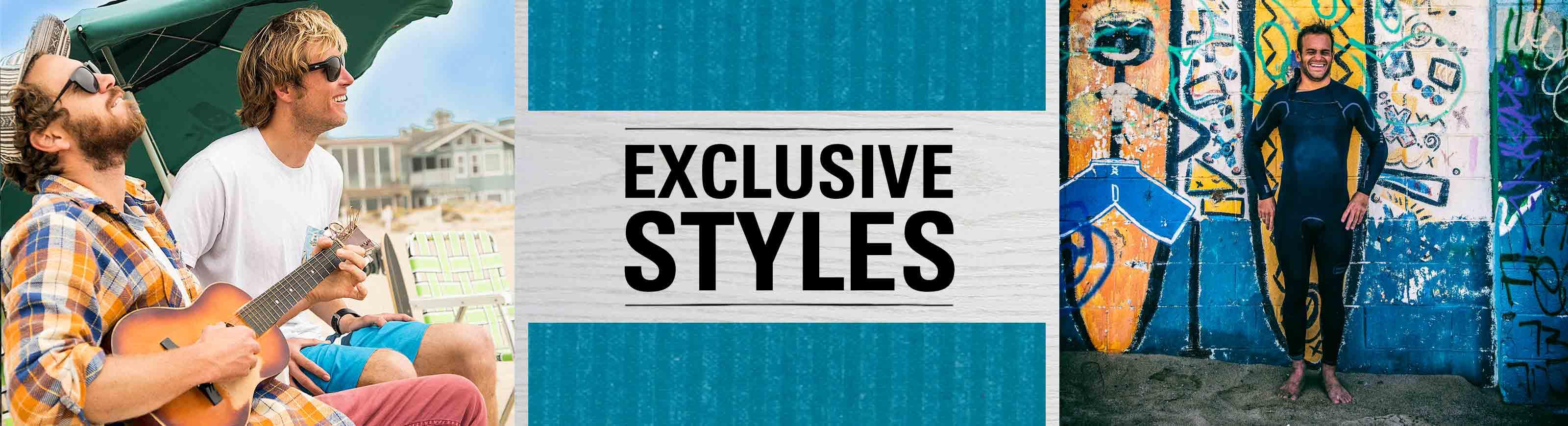 shop men's exclusives