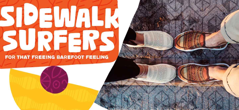 Sidewalk Surfers - For That Freeing Barefoot Feeling